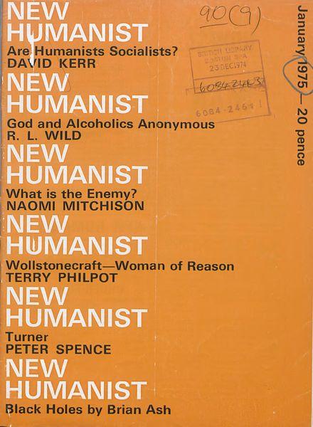 New Humanist – January 1975