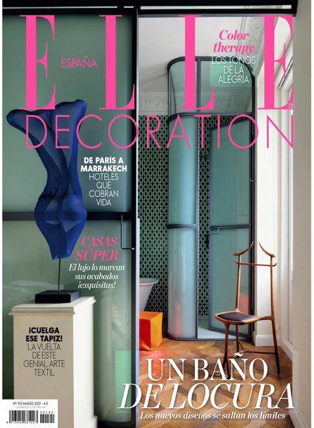 Elle Decoration Espana – marzo 2021