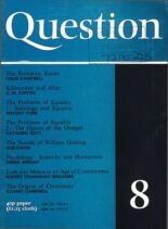 New Humanist – Question, September 1974