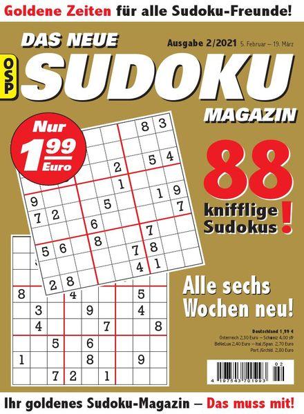 Das Neue Sudoku – Nr.2 2021