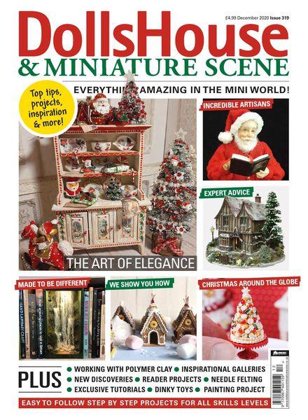 Dolls House & Miniature Scene – December 2020