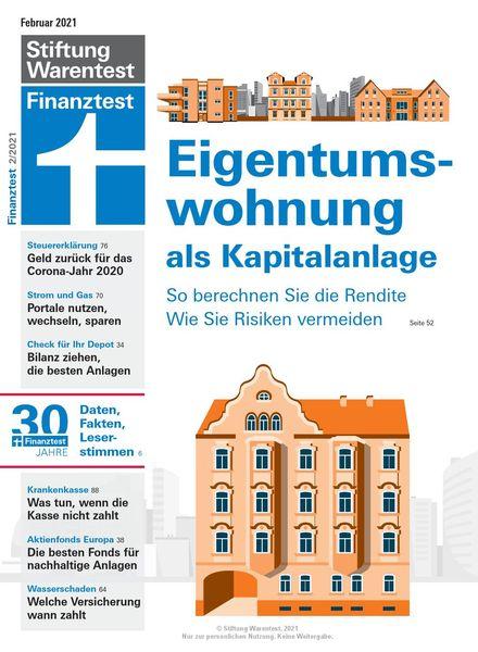 Finanztest – Februar 2021