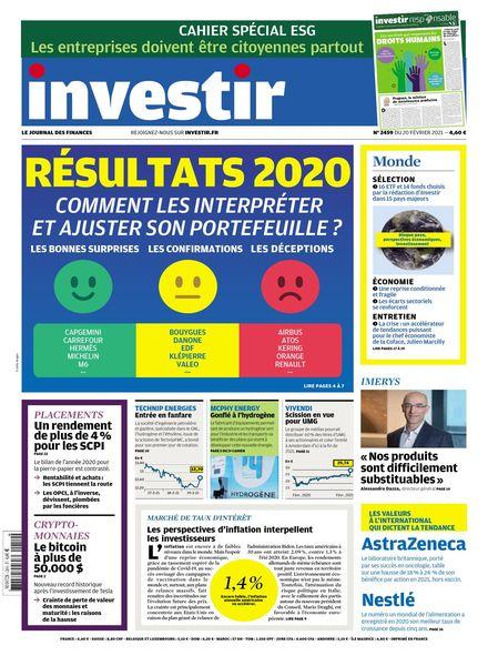 Investir – 20 Fevrier 2021