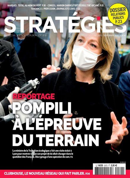 Strategies – 18 Fevrier 2021