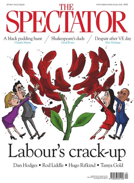 The Spectator – 16 May 2015