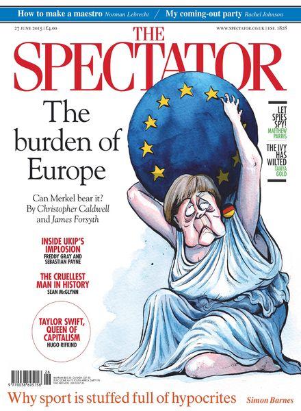 The Spectator – 27 June 2015