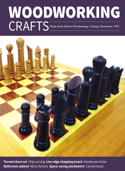 Woodworking Crafts – March-April 2021
