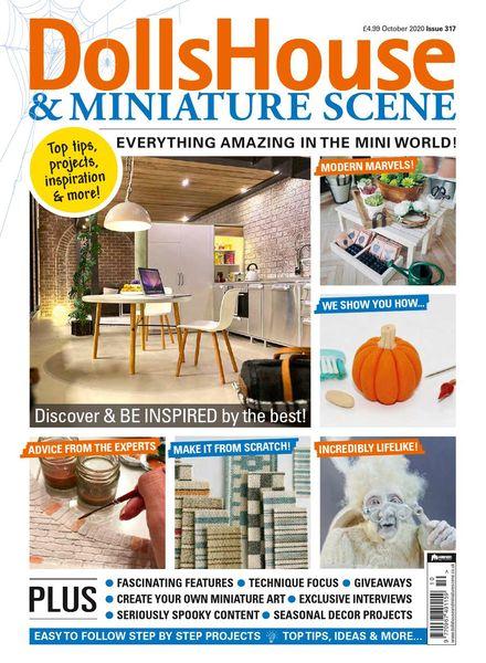 Dolls House & Miniature Scene – October 2020
