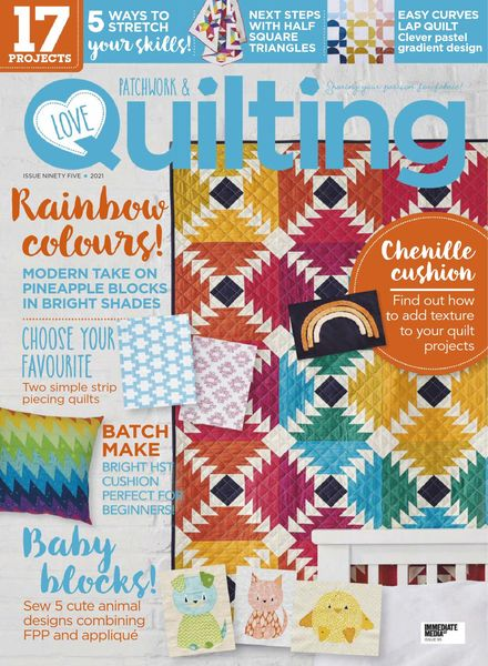 Love Patchwork & Quilting – March 2021