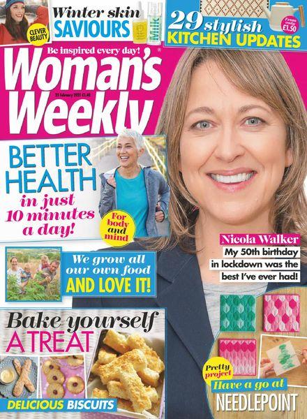 Woman's Weekly UK – 23 February 2021