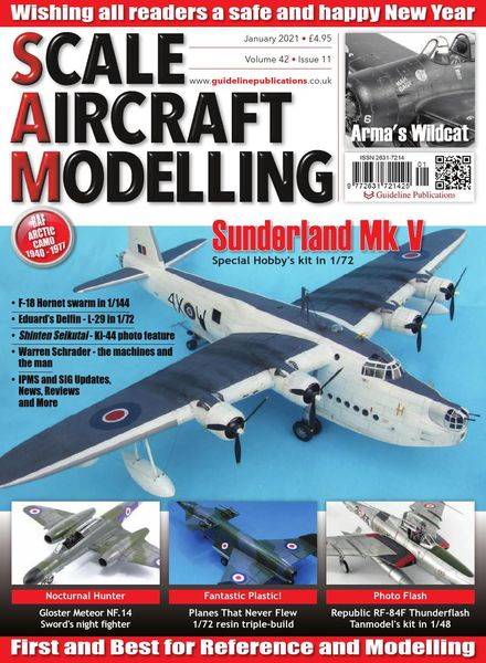 Scale Aircraft Modelling – January 2021