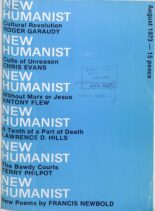New Humanist – August 1973