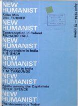 New Humanist – April 1974