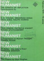 New Humanist – February 1974