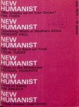 New Humanist – July 1974