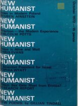New Humanist – October 1973