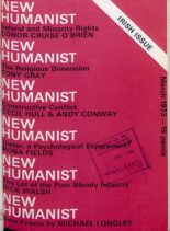New Humanist – March 1973