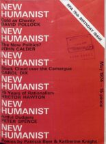 New Humanist – May 1974