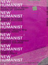 New Humanist – November 1972