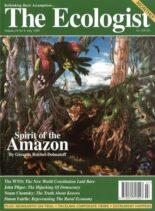 Resurgence & Ecologist – Ecologist, Vol 29 N 4 – Juyl 1999