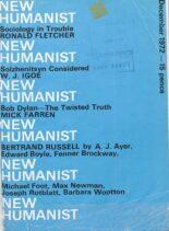 New Humanist – December 1972