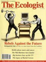 Resurgence & Ecologist – Ecologist, Vol 29 N 5 – August-Sepember 1999