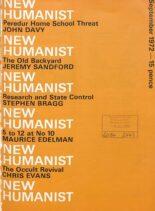New Humanist – September 1972