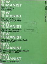 New Humanist – June 1973