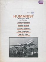 New Humanist – The Humanist, February 1972
