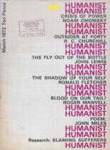 New Humanist – The Humanist, March 1972