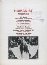 New Humanist – The Humanist, November 1971