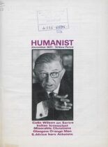 New Humanist – The Humanist, December 1971