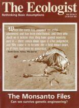 Resurgence & Ecologist – Ecologist, Vol 28 N 5 – Sepember – October 1998