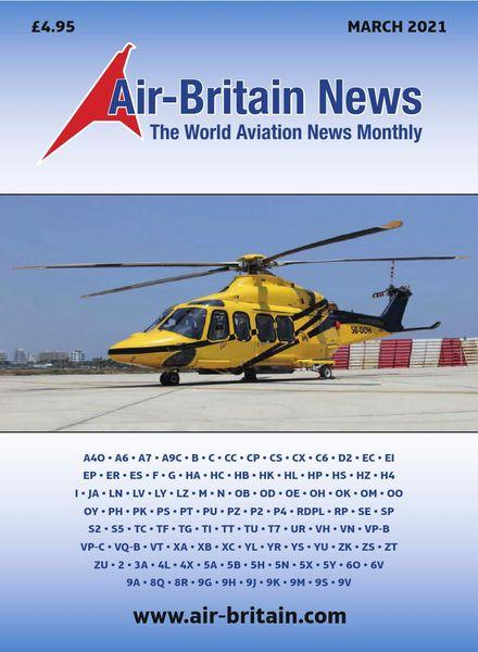 Air-Britain News – March 2021