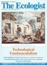Resurgence & Ecologist – Ecologist, Vol 28 N 6 – November – December 1998