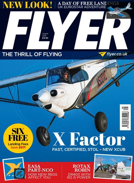Flyer UK – August 2016