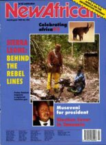 New African – July August 1995