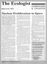 Resurgence & Ecologist – Campaigns & Updates May-June 1997
