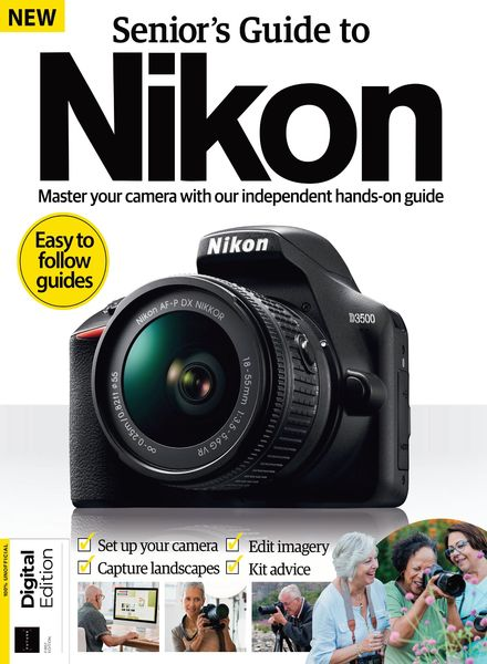 Senior's Nikon Camera Book – 03 April 2021