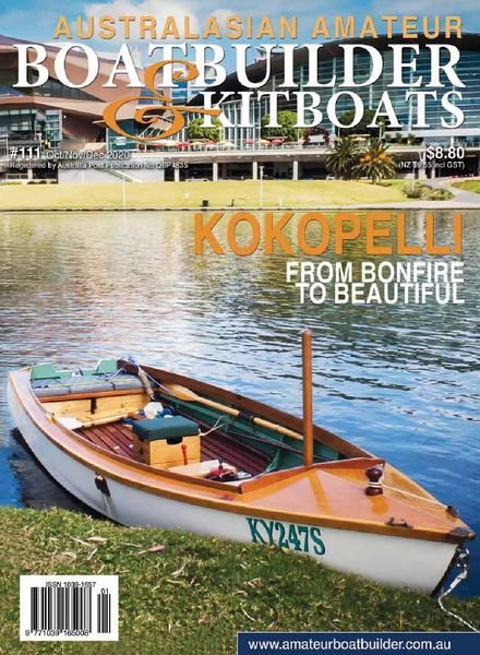 Australian Amateur Boat Builder – Issue 111 – October-November-December 2020