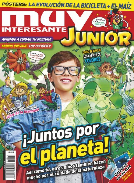 Muy Interesante Junior Mexico – abril 2021