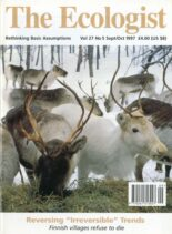 Resurgence & Ecologist – Ecologist, Vol 27 No 5 – Sepember – October 1997