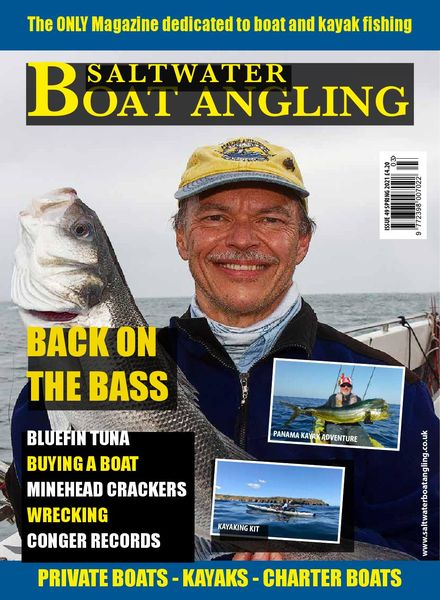 Saltwater Boat Angling – Issue 49 – Spring 2021