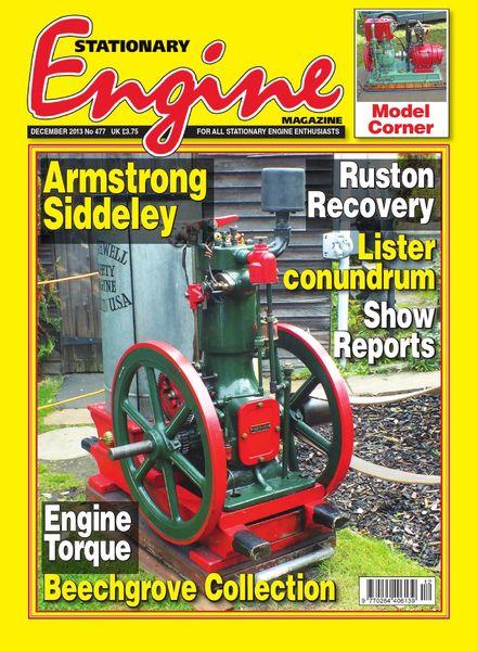 Stationary Engine – Issue 477 – December 2013
