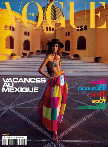 Vogue Paris – avril 2021