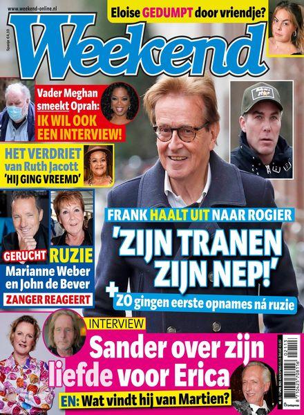 Weekend Netherlands – 31 maart 2021