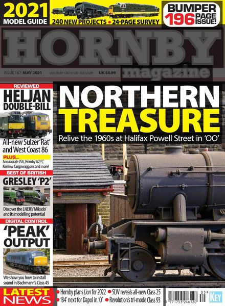 Hornby Magazine – Issue 167 – May 2021