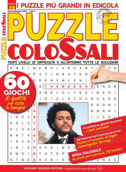 Puzzle Colossali – aprile 2021