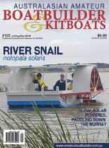 Australian Amateur Boat Builder – Issue 102 – July-August-September 2018
