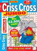 Family Criss Cross Jumbo – April 2021